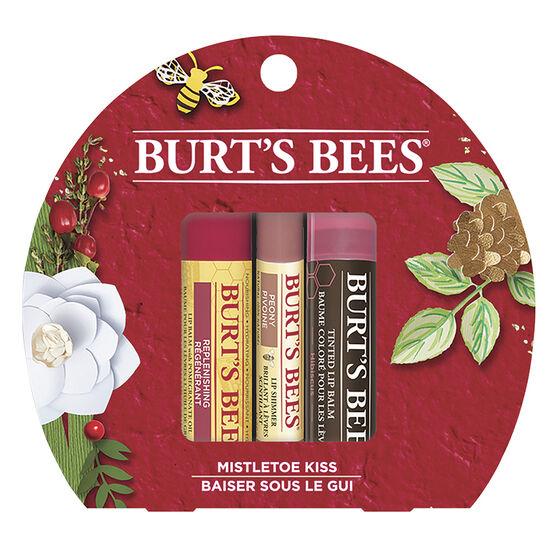 Burt's Bees Mistletoe Kiss Lip Balm Set - 3 piece
