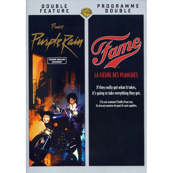 Purple Rain/Fame Double Feature - DVD