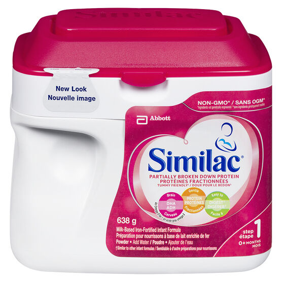 Similac Powder Partially - Broken Down Protein - 638g