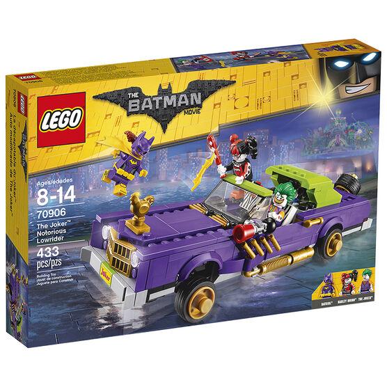 Lego Batman The Joker Notorious Lowrider - 70906