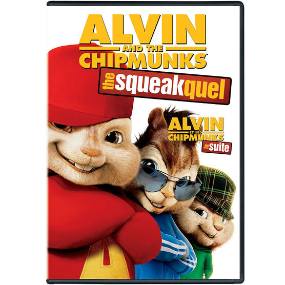 Alvin And The Chipmunks: The Squeakquel - DVD