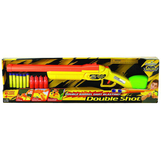 Double Shot Dart Blaster with 6 Darts