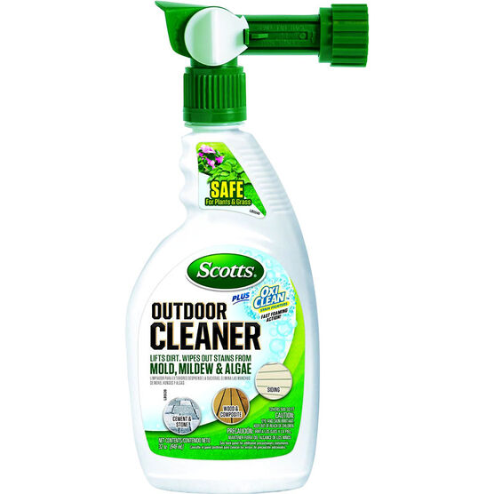 Scott's Plus OxiClean Outdoor Cleaner Ready to Spray - 947ml