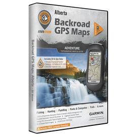 Backroad GPS Maps - Alberta - 00914