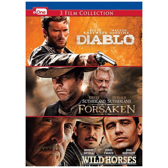 Diablo/Forsaken/Wild Horses - DVD