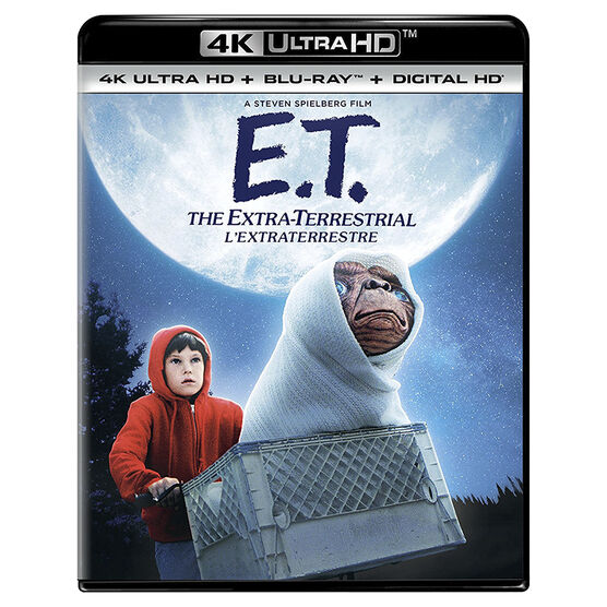 E.T. the Extra-Terrestrial - 4K UHD Blu-ray
