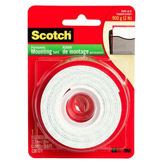 Scotch Mounting Tape - 12mm x 1m