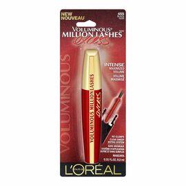 L'Oreal Voluminous Million Lashes Excess Mascara - Black