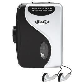 Jensen Cassette Player with AM/FM Radio - SCR68B