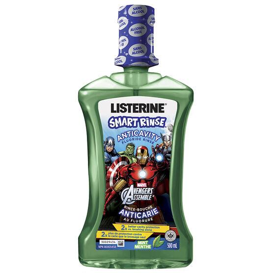 Listerine Smart Rinse - Mint - 500ml
