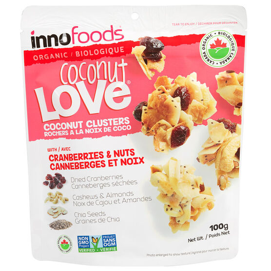 Inno Coconut Love - Cranberry & Nuts - 100g