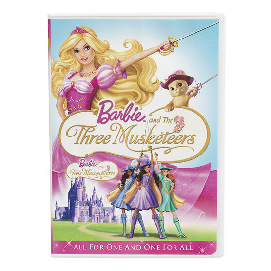 Barbie And The Three Musketeers - DVD