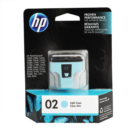 HP 2 Vivera Ink Cartridge - Light Cyan - C8774WN#140