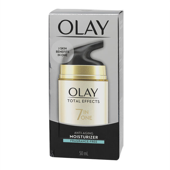 Olay Total Effects 7-in-1 Visible Anti-Aging Moisturizing Cream - Fragrance Free - 50ml