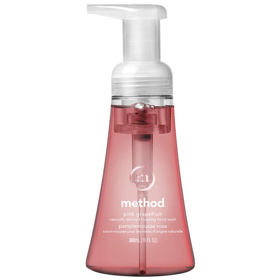 Method Foaming Hand Wash - Pink Grapefruit - 300ml