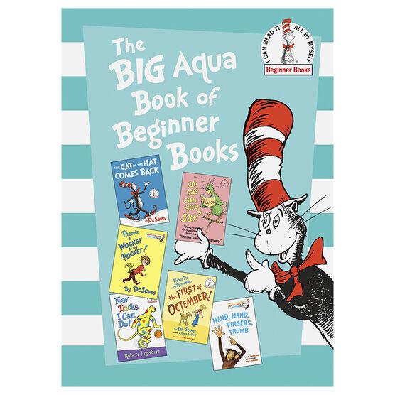 The Big Aqua Book of Beginner Books by Dr. Seuss