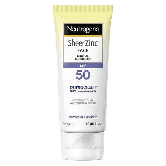 Neutrogena sunscreen 50