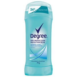 Degree Women Dry Protection Anti-Perspirant Stick - Shower Clean - 74g