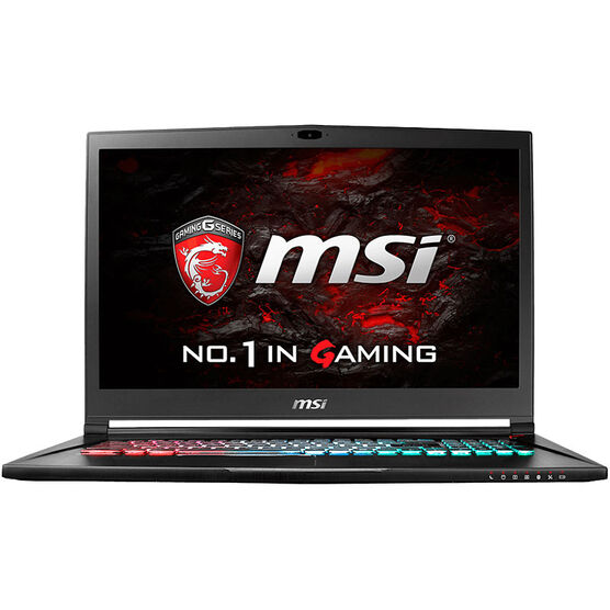 MSI Stealth Pro 4K Gaming Laptop - GS73VR 6RF-005CA