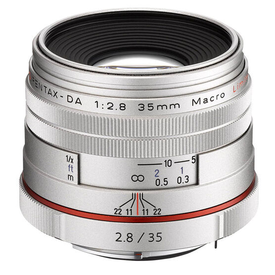 Pentax HD DA 35mm f2.8 Limited Lens - 21460 - Silver