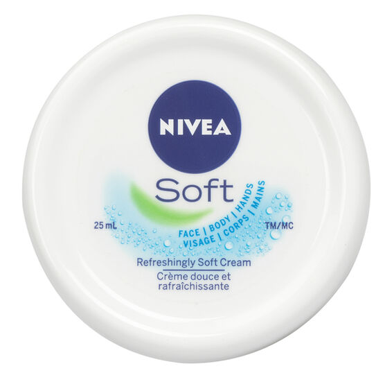 Nivea Soft Refreshingly Soft Moisturizing Cream - 25ml