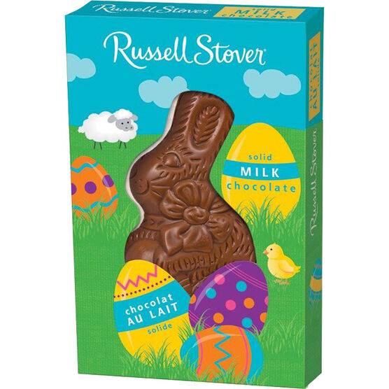 Russell Stover Milk Chocolate Bunny - Solid - 37g
