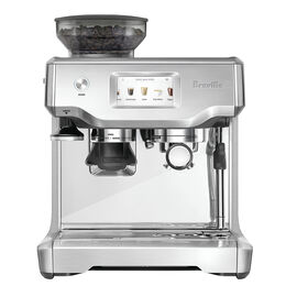Breville Barista Espresso Machine - Brushed Silver - BES880BSS