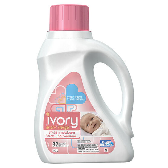Ivory Snow Liquid Fabric Softener - Newborn - 1.47L