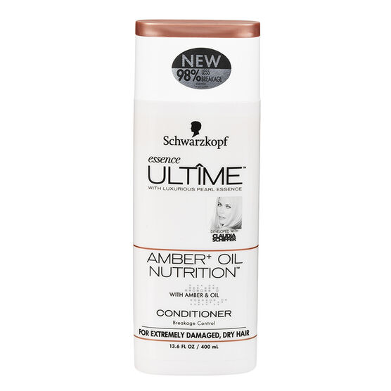 Schwarzkopf Essence Ultime Conditioner - Amber+ Oil Nutrition - 400ml