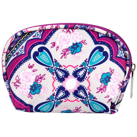 Modella Purple Patchwork Round Top Case - A002525LDC