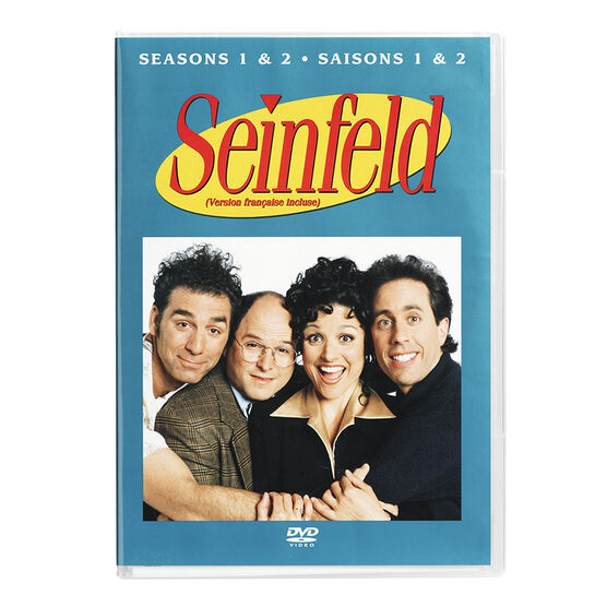 Seinfeld: The Complete First And Second Seasons - DVD