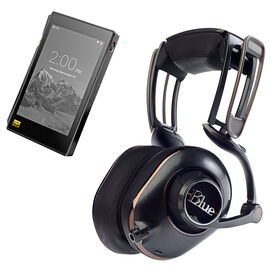 FiiO X5III Hi-Res Audio Player + Blue Mic Mo-Fi Headphones - PKG #30301