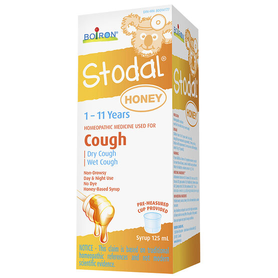 Boiron Stodal Children's Homeopathic Cough Syrup - 125ml