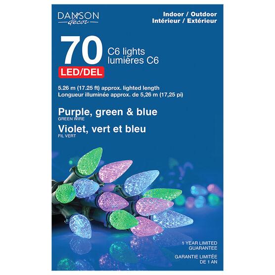 Danson Outdoor LED Lights - Purple - 70's