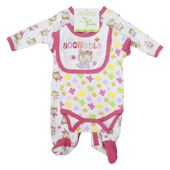 Baby Mode Adorable 3-Piece Set - 6583 - Assorted