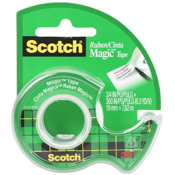 3M Scotch Magic Transparent Tape - 19mm x 7.6m