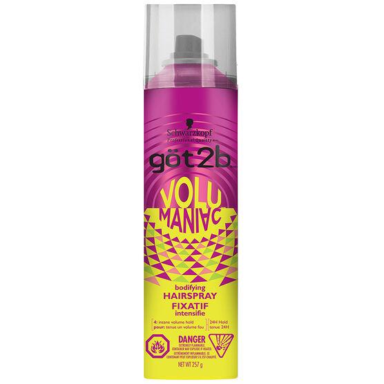 got2b VoluManiac Bodifying Hairspray - 257g
