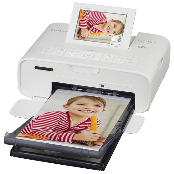 Canon Selphy CP1300 Compact Photo Printer - White - 2235C001
