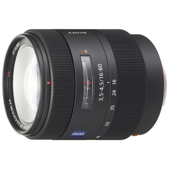 Sony Carl Zeiss Vario-Sonnar T* DT 16-80mm f/3.5-4.5 ZA Lens - SAL1680Z - Open Box Display Model
