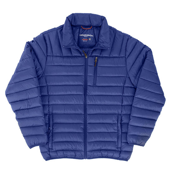 Hawke Co. Packable Down Jacket - Blue - Small/XL