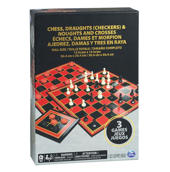 Chess/Checkers/Tic Tac Toe