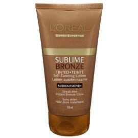 L'Oreal Sublime Tinted Self Tanning Lotion - Medium - 150ml