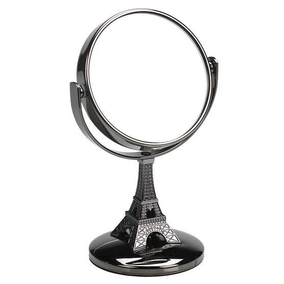 Danielle Eiffel Tower Vanity Mirror - Mini - Gun Metal - 4x