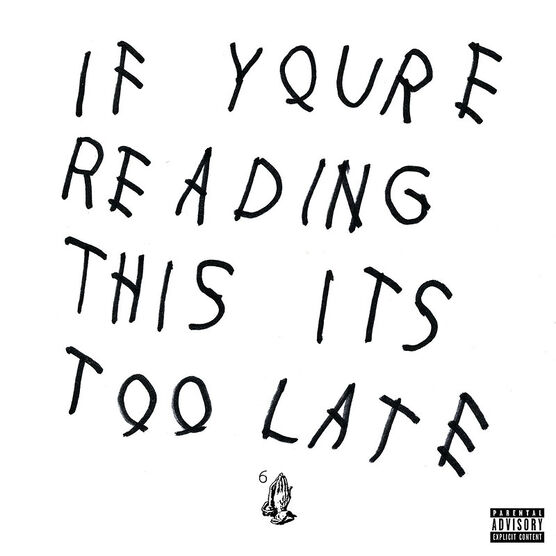 Drake - If You're Reading This It's Too Late - CD