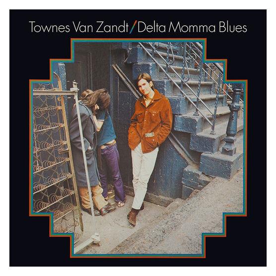 Townes Van Zandt - Delta Momma Blues - Vinyl