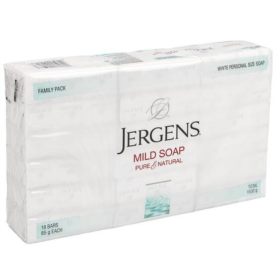 Jergens Mild Soap - 18x85g