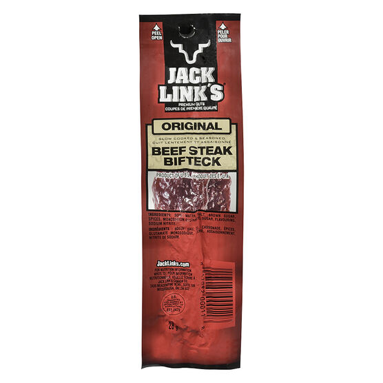 Jack Link's Beef Steak - Original - 28g