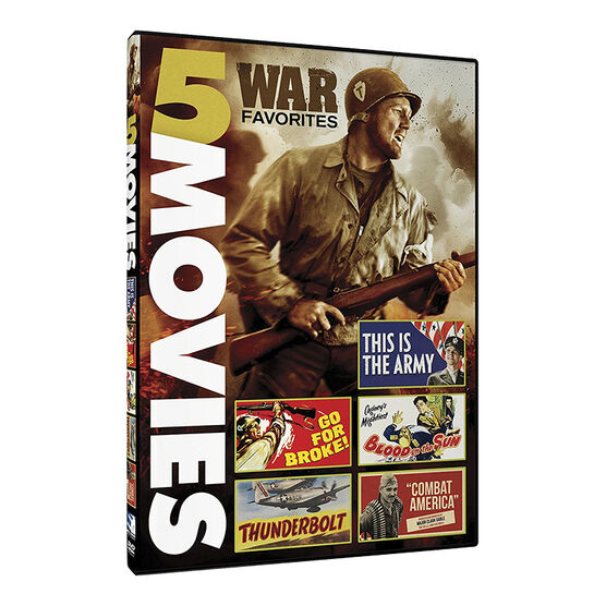 War Favorites: 5 War Movies - DVD