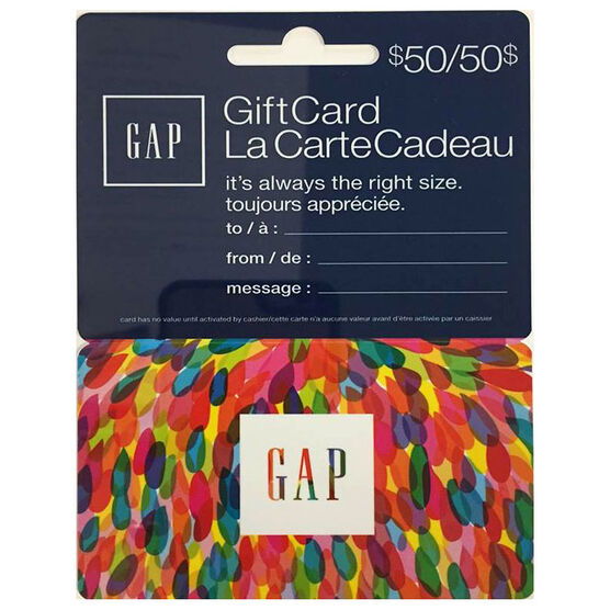 Gap Gift Card - $50