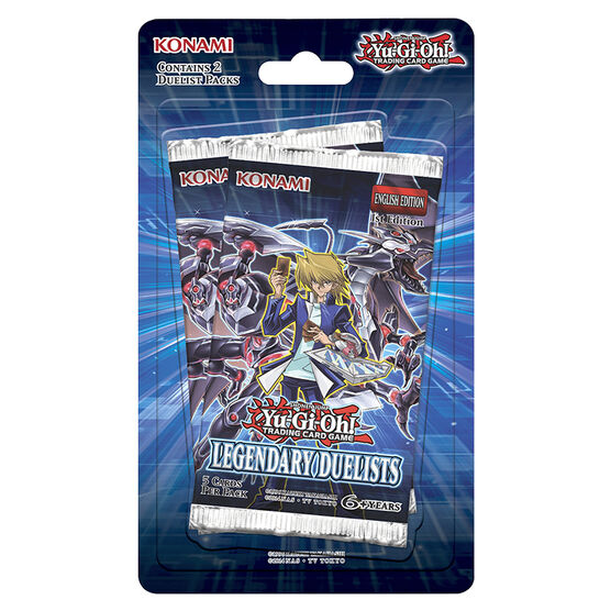 Yu Gi Oh Legendary Duelist Blister Pack